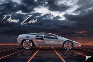Poster-Retrowave-Dome-Zero-Artist-Adcvision