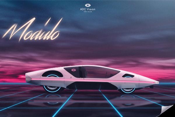 Poster-Retrowave-Ferrari-Modulo-512s-Artist-Adcvision